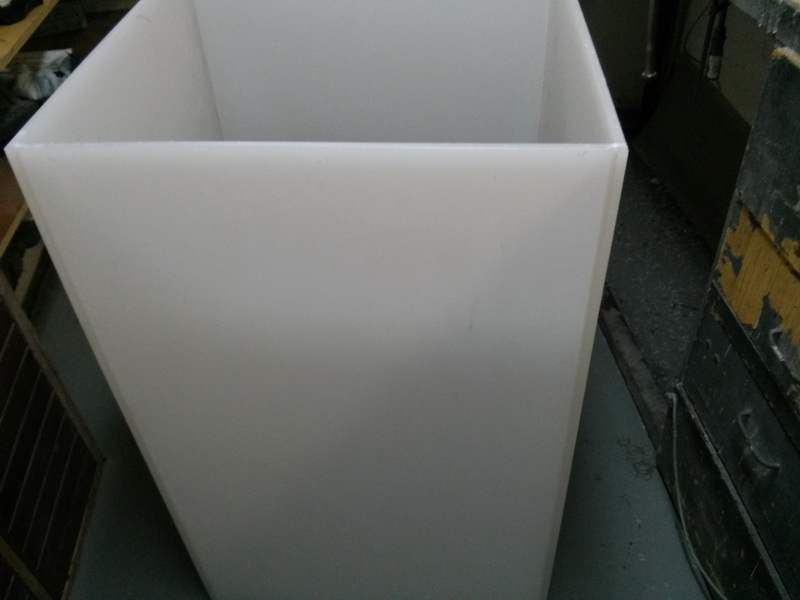 Photo gallery, production of plastic chimney for Institute of Physics