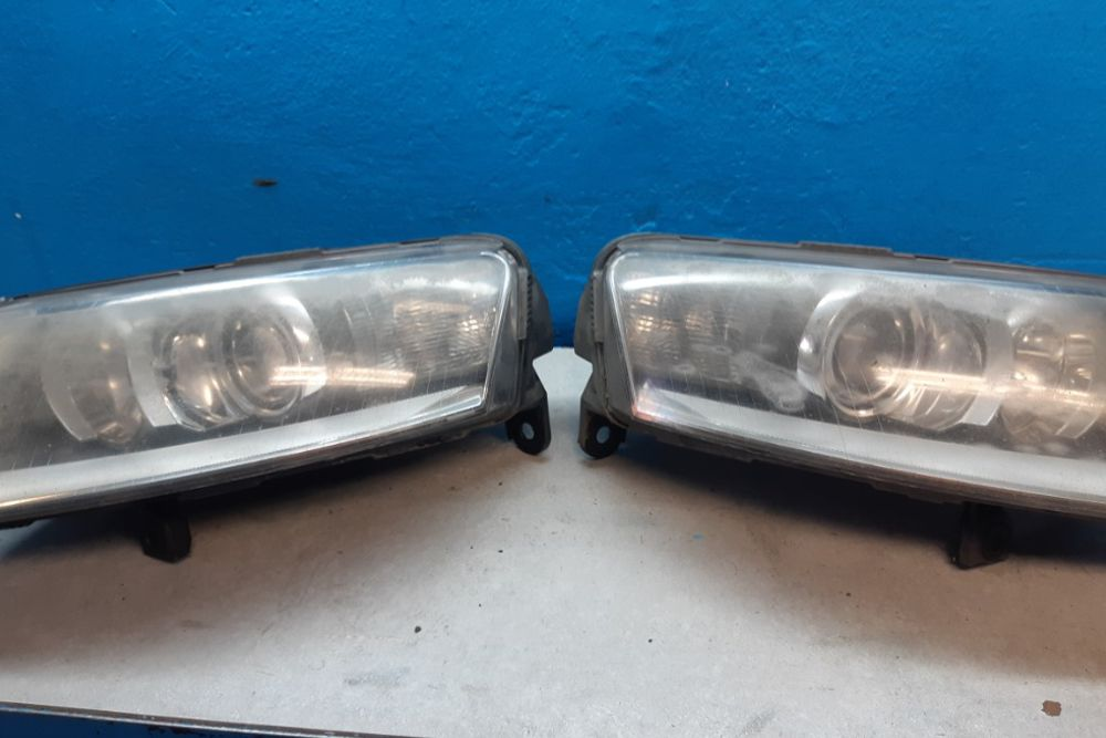 Photo gallery, Audi headlight repair